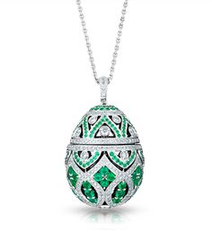 Welcome to Fabergé - Explore the world of Fabergé and discover incredible fine jewellery creations and collections, including stunning Fabergé eggs and jeweled egg pendants. Jewelry Gifts, Fine Jewelry, Jewellery, Antique Jewelry, Vintage Jewelry, Faberge Jewelry, Faberge Eggs, Egg Art, Oeuvre D'art