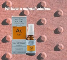 Liddells Acne formulation may aid in the temporary relief of symptoms associated with acne such as pimples and blemishes redness itching and inflammation.