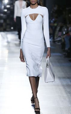 Anita Long Sleeve Pencil Dress by CUSHNIE ET OCHS for Preorder on Moda Operandi