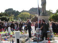 Matakana War Memorial 2017 ANZAC Day Service.