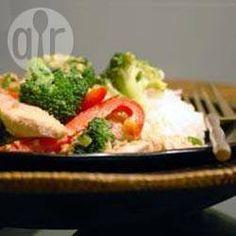 Thai Peanut Chicken @ allrecipes.co.uk