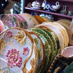 Paris Flea Market dishware ... .