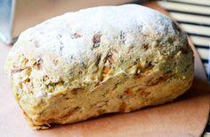 Das #Nuss-Gemüse-Brot ist einfach zuzubereiten und schmeckt saftig und lecker. Ein super #Rezept für ein abwechslungsreiches Gebäck.