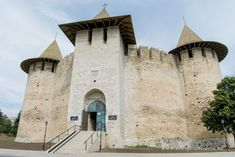 » Cetatea Soroca Notre Dame, Places To Visit, Louvre, Explore, Adventure, History, Building, Moldova, Travel