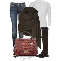 Chocolate Chic - Polyvore