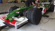 Jaguar F1 V10 @ Spa Francorchamps. 2004 F1 Sound