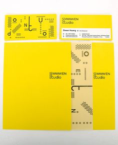 Siwen Studio | Corporate Identity by Transwhite Studio