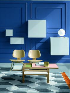 Discover #Par4 declined in the #Light #palette! #furniture #design #colors #lightcolors #table #colorful #livingroom