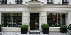 Hotel Le Lavoisier, Paris - wonderful place to stay right in the middle of the fashion district! LOVED it!