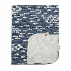 under the sea navy blue blanket – The Sweet Fox