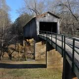 Virtually untouched since the 1800s, the town of Euharlee in northwest Georgia was a stop on this year's ramble. Pictured here is one of the oldest covered bridges in the state.   | HGTV FrontDoor