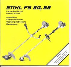 Stihl Fs 85 Parts Manual Pull Start Assembly