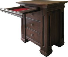 Timber Ridge Collection – Nightstand with Hidden Drawer