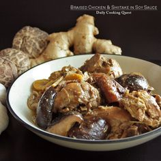 Braised chicken and shiitake in soy sauce is a very classic Chinese dish and every Chinese household probably knows how to cook it. And though it is really easy to make this, I have seen this being served in festive occasions, like Chinese New Year and weddings. So, if you …