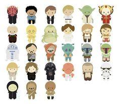 Cute Star Wars Characters | Trust Me, I'm A Superhero