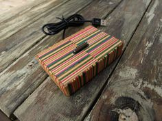 Recycled Skateboards - Colorful ipod Dock by SecondShot on Etsy
