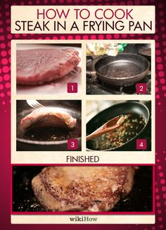 How to Cook Steak in a Frying Pan in 8 Steps