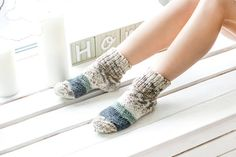 SALE! Boot socks, Christmas gifts, Gifts for women, Wool socks, Slipper socks, Womens, girls socks, Knit socks, Warm socks, Ladies socks