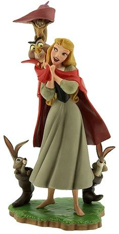 "WDCC Disney Classics Sleeping Beauty Briar Rose Once Upon A Dream #WDCCDisneyClassics #Art. Briar Rose is sculpted from the 'Once Upon a Dream' sequence of ""Sleeping Beauty"" and is the 1st WDCC release from that film. Numbered Limited Edition (NLE) of 12,500."