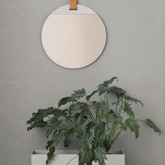 Lines Wallpaper, Grey by Ferm Living at Dotmaison