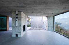 Wespi & de Meuron. House GR in S. Abbondio, Ticino, Switzerland. 2012. Photography Juan Rodriguez