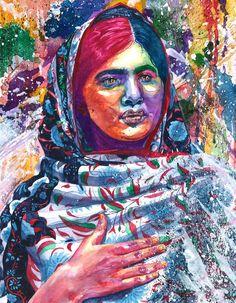 Malala Yousafzai by ElainaUnger