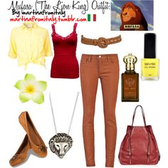 """ITS Mufasa...""""Mufasa (The Lion King) Outfit"""" by martinafromitaly on Polyvore"""
