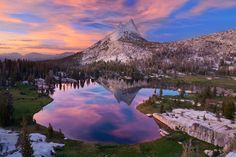 Tuolumne > The crowded-ass Yosemite valley. Tuolumne Meadows Wilderness Center by Sean Goebel for the US Dept of the Interior [1280x853]