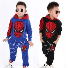 Spiderman Baby Boys Clothing Set Sport Suit Children Fashion Child Spider Man Superhero Costume Kids Hoodie Tracksuit Clothes - Baby clothing boy, Baby clothing girl, Gender neutral and baby clothing Superhero Costumes Kids, Spiderman Costume, Halloween Costumes For Kids, Baby Outfits Newborn, Baby Boy Outfits, Outfits For Teens, Baby Boy Clothing Sets, Baby Clothes Shops, Teen Clothing