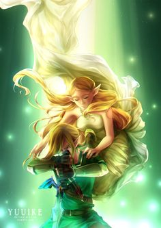 Legend of Zelda: Breath of the Wild [+Speedpaint] by yuuike