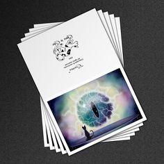 Cosmos (Cats Eye Nebula) Greeting Cards