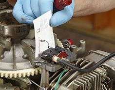 Engine Start Up Tips Give your starter-cord arm a rest while you run these basic diagnostic testsGive your starter-cord arm a rest while you run these basic diagnostic tests Lawn Mower Maintenance, Lawn Mower Repair, Chainsaw Repair, Tecumseh Engine, Engine Repair, Engine Rebuild, Engine Start, Lawn Equipment, Small Engine