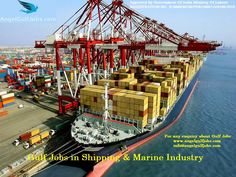#GulfJobsOpportunities in #Shipping & #MarineIndustry #Careers #Jobs #AngelGulfJobs Industries We Serve #ChiefEngineer #SecondEngineer #ThirdEngineer #FourthEngineer #EngineeringCadet #Pumpman and many more.... Angel Gulf Jobs is a full-service overseas manpower agency promoted by highly experienced professionals having worked across different sectors in the Gulf region.