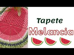 #tapeterapido #tapetefacilemcroche Tapete Melancia 🍉 - YouTube Crochet Patterns, Crochet Hats, Youtube, Crafts, Crochet Carpet, Keychain Ideas, Crochet Doilies, Needlepoint, Pot Holders