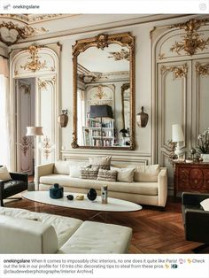Charming French Twist: Furnishings With Parisian Panache