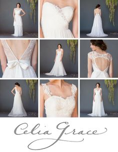 The Stunning 2015 Bridal Collection from Celia Grace – Wedding Dresses with a Heartwarming Story