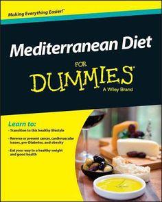 Mediterranean Diet For Dummies by Rachel Berman (Paperback)