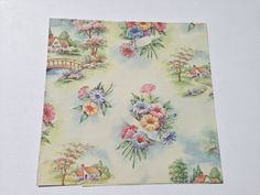 Vintage Gift Wrapping Paper  Country by TheGOOSEandTheHOUND, $6.00