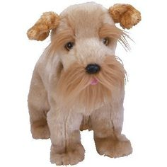 TY Beanie Baby - SCHNITZEL the Dog who lives with my Mother at the nursing home...