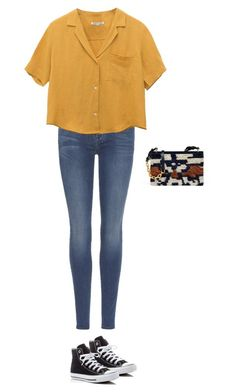 """Untitled #403"" by silverquarts on Polyvore featuring 7 For All Mankind, Converse and Tory Burch"