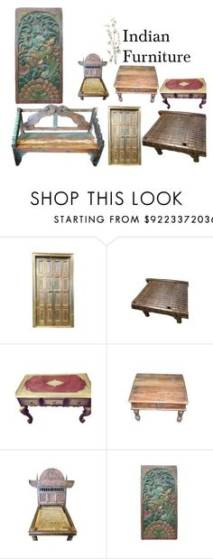 """""""Indian  Furniture"""" by moguldesigns on Polyvore featuring interior, interiors, interior design, home, home decor, interior decorating, Pier 1 Imports, vintage, furniture and antique"""