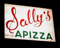 """Sally's Apizza, New Haven, CT / Food Paradise, """"Pizza Paradise"""", Travel Channel"""