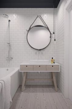 Simple bathroom decoration More