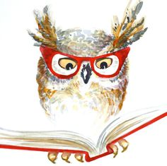 owl humor reading - photo #43