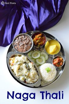 A vegetarian thali in Nagaland? Yes, possible ...