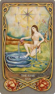 The Star from the Fenestra Tarot