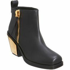 Giuseppe Zanotti Plated Heel Ankle Boot at Barneys.com