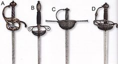 Swords of the Renaissance. Sword blades were manufactured in Toledo and Valencia (Spain), Solingen and Passau (Germany), and Milan and Brescia (Italy). They were sold as unhilted blades and then hilted locally.