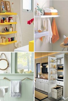 astuce rangement salle de bain- idées-photos-styles-variés