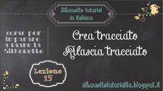 Silhouette Studio tutorial in italiano - videocorso per imparare l'uso degli strumenti Silhouette http://silhouettetutorialita.blogspot.it ARGOMENTO: Creare ...